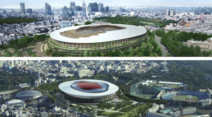 Two new Olympic stadium