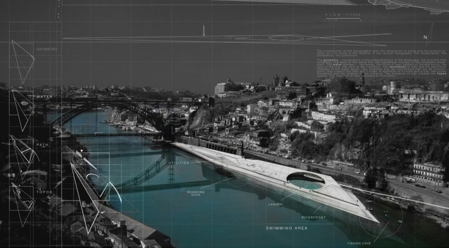 Porto Pool Promenade Ideas Competition