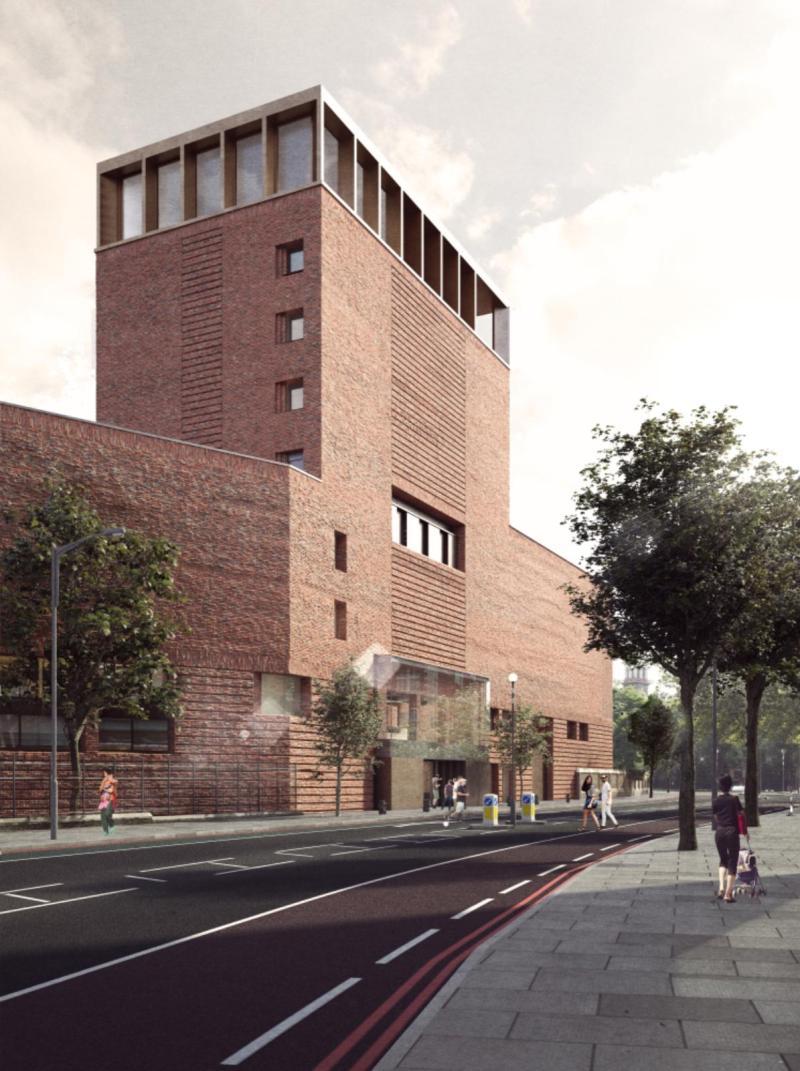 new Lambeth Palace Library