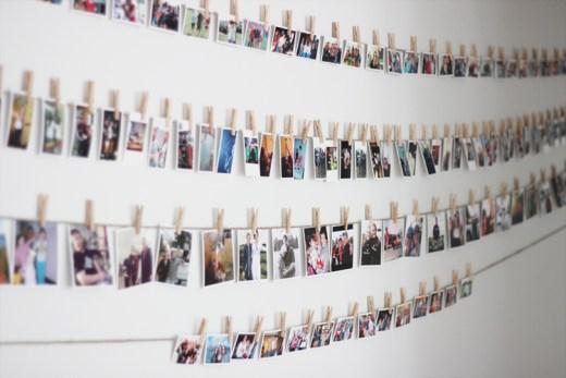 displaying mini photos