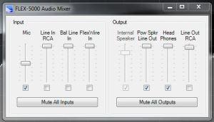 Final Mixer Settings
