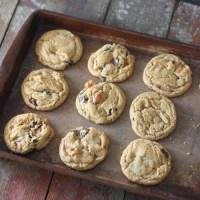 Mango Dark Chocolate Chocolate Chip Cookies