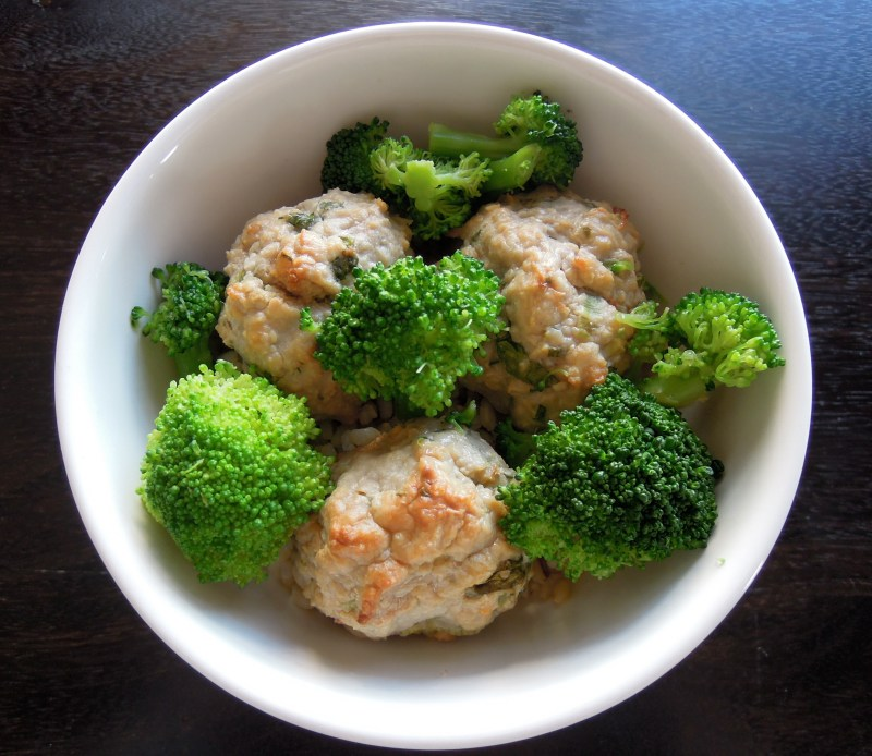 Large Of Asian Turkey Meatballs