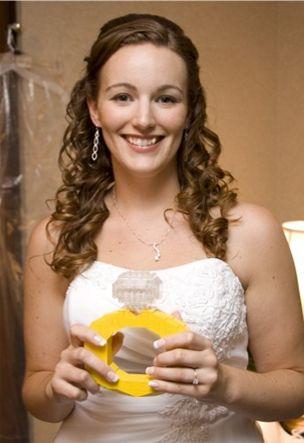 Abbie Wedding Pic