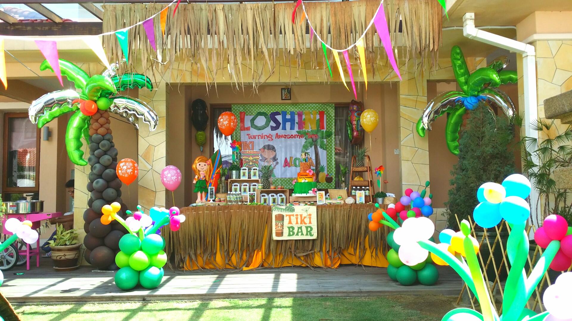 Fullsize Of Hawaiian Theme Party