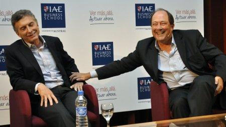 Macri y Sanz