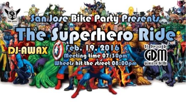 San Jose Bike Party poster