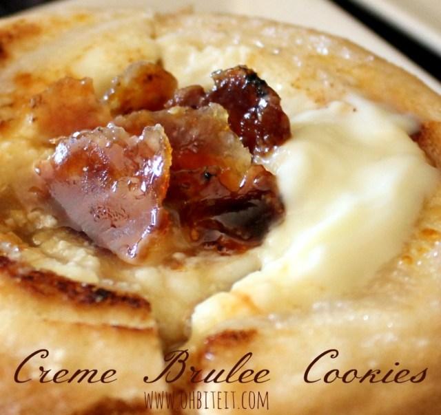 creative dessert ideas creme brulee cookies