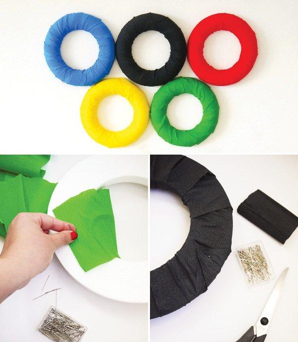 Olympics Backdrop Rings