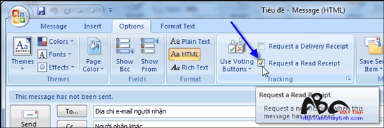 Những thủ thuật cho Microsoft Office Outlook 2007 (Phần 3)