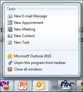 """""""Điểm danh"""" 3 tính năng hay của Microsoft Outlook 2010"""
