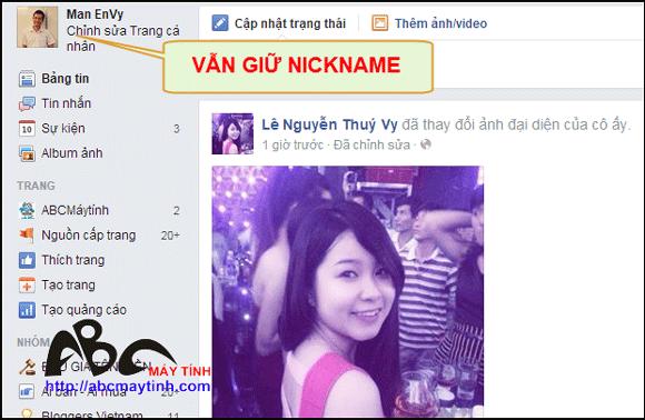 Có nhất thiết phải đổi tên Facebook hay không?