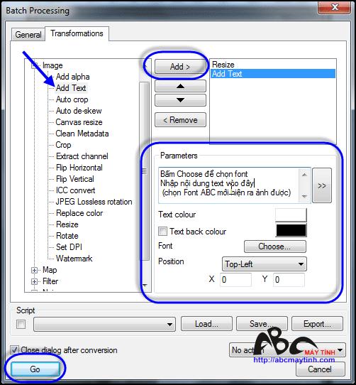 Thay đổi kích thước ảnh hàng loạt bằng XnView