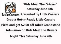 Kids meet the Drivers Night