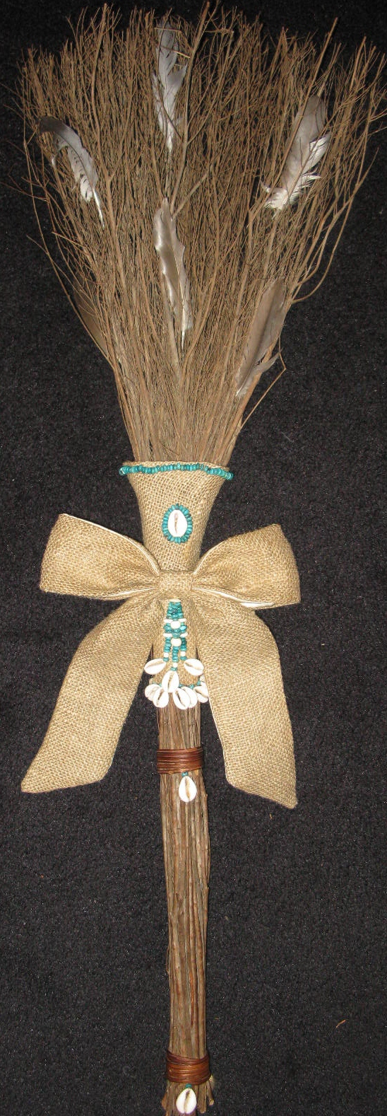 abenas family jumpin brooms wedding brooms Jumpin The Broom came to American slavery from the African tradition of jumping sticks This tradition signifies leaving behind or sweeping away past