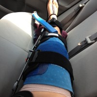 Week 1 Post ACL Surgery