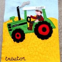 <!--:en-->Quiet book - Tractor<!--:--><!--:nl-->Voelboekje - Tractor<!--:-->