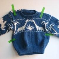 [:nl]Onze eigen Jurassic World - De dinotrui[:en]Our own Jurassic World - The dino sweater[:]