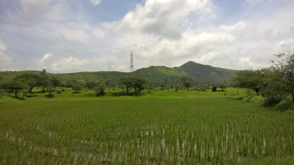 View from the drive to Bhandardara