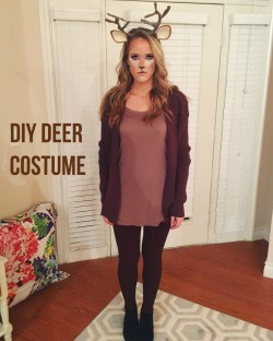 Small Of Deer Halloween Costume