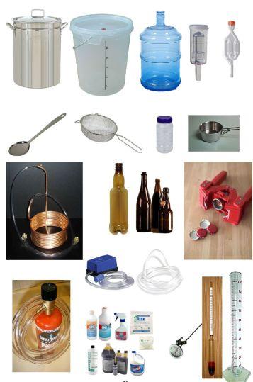 ابزار و تجهیزات آبجوسازی خانگی