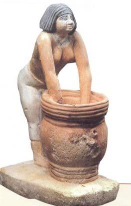 ماکت چوبی زن مصری