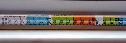 هیدرومتر مخصوص آبجو و شراب با سه واحد اندازه گیری
