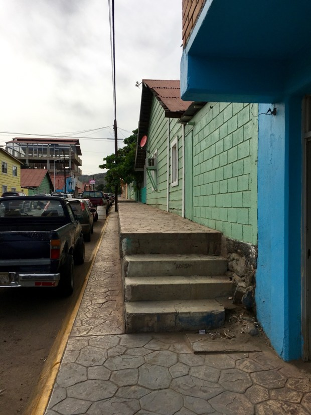 OK, not every street was wheelchair accessible