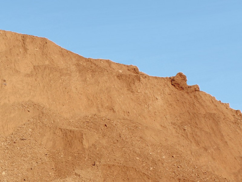 arena morterenca roja
