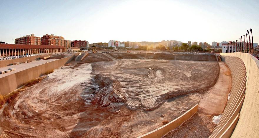Obras Parque Central de Valencia