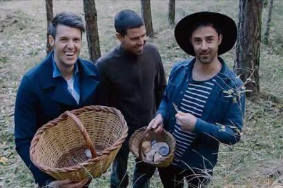 Mushroom hunting with Masterchef Australia chefs Andy and Ben