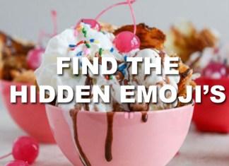 Find hidden emoji