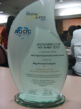 digital filipino web award