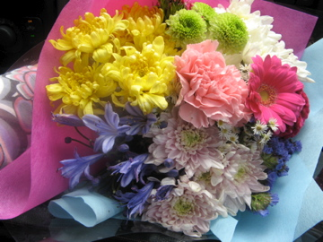 flowers on mother's day