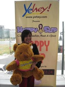 me and teddy bear