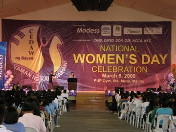 national women's day celebration