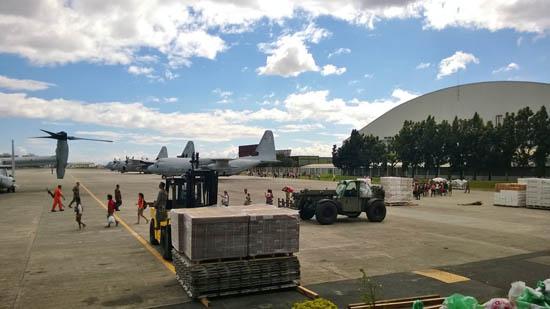 arrivals of evacuees