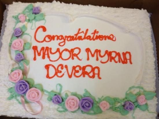 congrats Myrna de vera