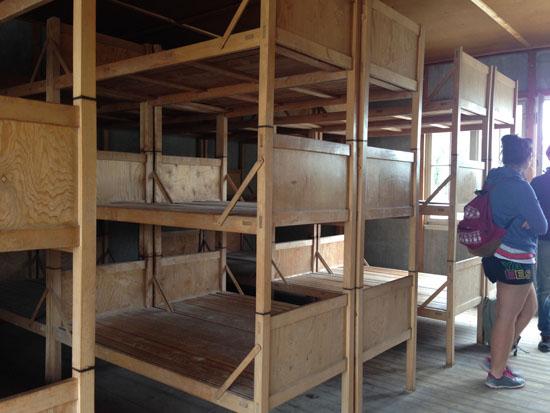 bunkbeds in dachau