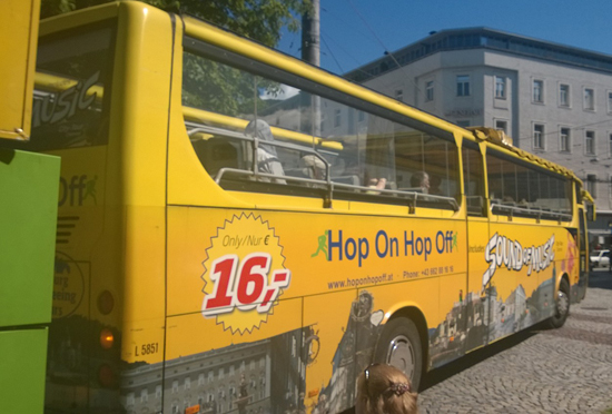 hop on hop off tour in salzburg