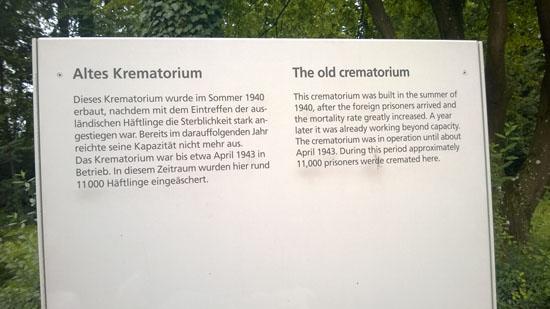 old crematorium in dachau