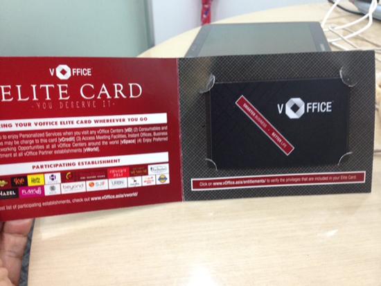 voffice card