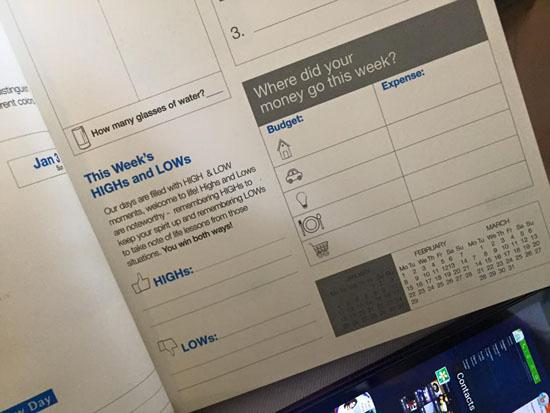 change planner details
