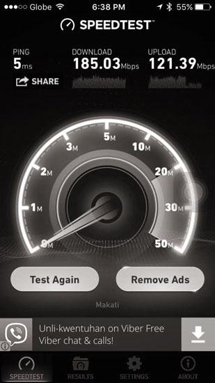 globe platinum broadband