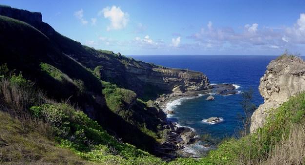 Coast near Forbidden Island, Saipan. Commonwealth of Northern Mariana Islands, Saipan by David Burdick. Some rights reserved.