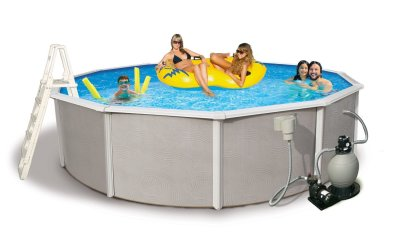 The blue wave belize above ground pool review best above for Summer waves above ground pool review