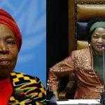 Madam President? (Left: Reuters/Denis Balibouse; Right: AP Photo/Nic Bothma)