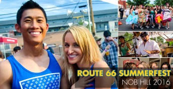 Route 66 Summerfest in Nob Hill