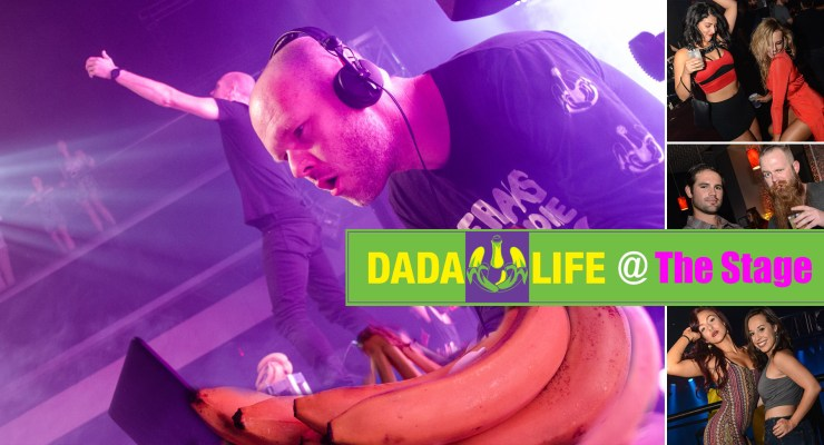 DADA LIFE at THE STAGE
