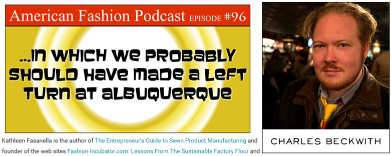 Apparel Manufacturing Boot Camp American Fashion Podcast